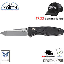 Benchmade 583 Barrage Axis-Assist Knife 154CM Stainless TANTO Blade FREE HAT