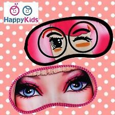 Cute Travel Sleeping Eye Mask for Girls  - Set of 2
