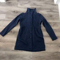 Patagonia Better Sweater Coat Size Medium Navy Blue