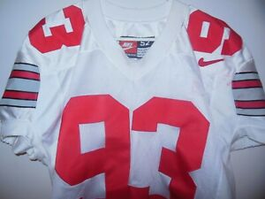 OHIO STATE BUCKEYES GAME USED FOOTBALL JERSEY