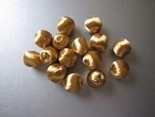 Déco Accessoire Perles PASSEMENTERIE, PAR 20,  diam 15 mm,  or,  PAPM14