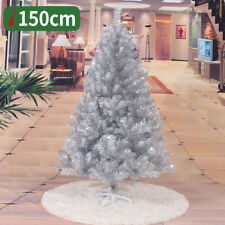 2 3 4 5 6 7 8 FT Christmas Tree Xmas Pine Tree with Solid Metal Legs Perfect
