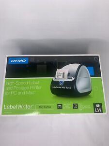 Dymo LabelWriter 450 Turbo Label Thermal Printer - Black (1752265)