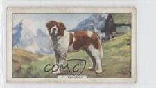 1938 Gallaher Dogs Series 2 Tobacco Base #32 St Bernard Non-Sports Card 1i6