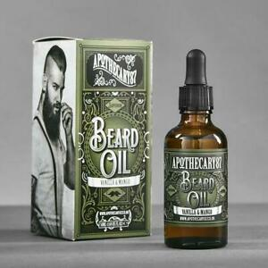 APOTHECARY 87 Beard Oil Vanilla Mango 50 mL Barber Shaving Conditioner NEW