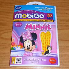 Disney MINNIE == VTech Mobigo, Mobigo 2, Mobigo Touch game == New, Sealed