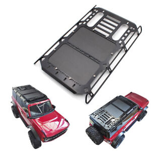 KYX Metal Roll Cage 1:10 Roof Luggage Tray Rack  for 2021 Ford Bronco TRX-4