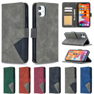 For Apple iphone 11 XS Max XR Magnetic Wallet Flip Stand Leather Card Case Cover