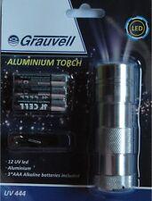 Grauvell lampe torche UV 12 leds pour recharger les leurres Phospho