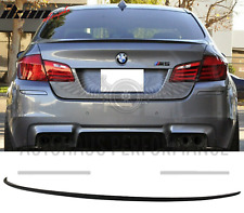 GLOSS BLACK LIP BOOT REAR SPOILER FIT FOR BMW F10 5 SERIES 2011-2017 M5 TYPE