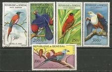 Sénégal Scott #C26-C30 MH Et Utilisé Oiseaux 1960-63
