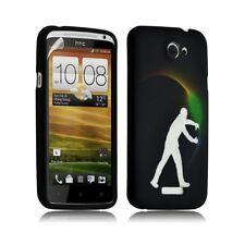 Housse coque étui gel pour HTC One X motif LM05 + Film protecteur