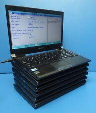 Lot of 6 laptopToshiba Portege R700 i5-M560@2.67ghz 4GB NO/HDD/BATTERY/BACKCOVER