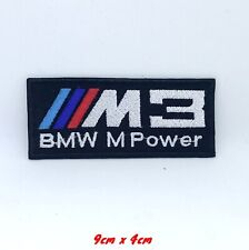 BMW M power M3 Automobile car racing series Embroidered Iron on Patch #1390