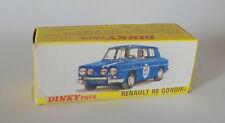 Repro Box Dinky Nr.1414 Renault R 8 Gordini