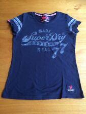 Superdry Navy T-shirt, XS