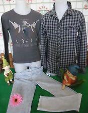 vêtements occasion fille 10 ans,chemise/tunique,sweat ZARA GIRL,leggings