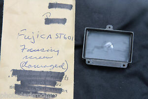 Fujica ST-601 Focus Screen - Damaged in Cleaning - PARTS X451