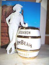 Jim Beam IAJBBSC 2014 Cowboy Convention Decanter White & 22K Gold 100 made