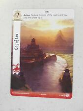 L5R LCG Stronghold Kit 4 2018 G1854 - Extended Art CITY OF LIES Card NEW!!