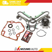 Timing Chain Kit w/o Gears Water Pump Gasket Fit 99-08 Dodge Jeep Chrysler 4.7L