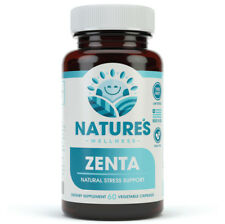 ZENTA - Natural Anxiety Relief and Anti Stress Supplement -Help Calm Body & Mind