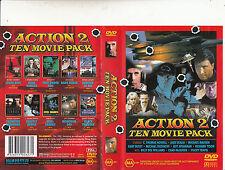 Crash Dive/Pure Danger/Steel Sharks-Dark Breed-[4 Disc]-Ten Movie Action 2-DVD