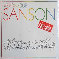 VERONIQUE SANSON C'EST LONG C'EST COURT LP 1985 Cellophané !
