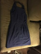 Nanette Lepore New With Tags Dress Blue Lined Size 8