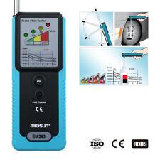 Automotive Brake Fluid Tester Brake Oil Diagnostic Detector LED180°Pucker Buzzer