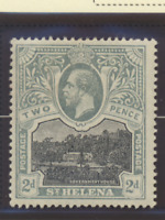 St. Helena Stamp Scott #64, Mint Hinged
