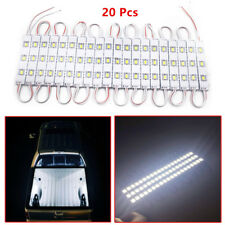 Universal 20 Pcs 12V 3 LED Car Pickup Bed Under LED Light Interior Reading Light