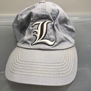 Louisville Cardinals Hat. Gray Adjustable Size Cap. NFL Football