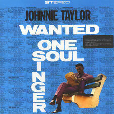 Johnnie taylor-wanted one soul singer (vinyle LP - 1965-ue-reissue)