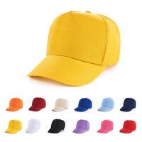 Adjustable Summer Children Kids Classic Junior Baseball Sun Cap Sport Hats~