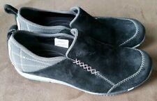 "MERRELL ""Bisect"" Womens Black Suede SlipOn Loafer Walking Comfort Shoes Size 7"