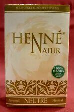 Henné Poudre Nature Neutre Naturel Coloration Cheveux Soin de Cheveux