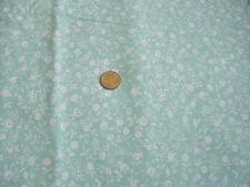 Ancien coupon de tissus Vintage en coton - linge ancien