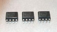 3 pcs. TLE2072CD TI Dual JFET-IN OP-AMP SO-8