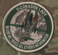 USAF CIA U-2 DRAGON LADY IN GOD WE TRUST MONITOR ALL OTHERS WE MONITOR PATCH