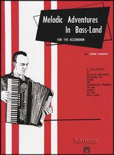 Melodic avventure in bass-land PER FISARMONICA SPARTITI MUSICALI LIBRO