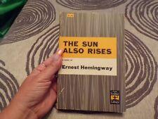 1965 The Sun Also Rises Ernest Hemmingway