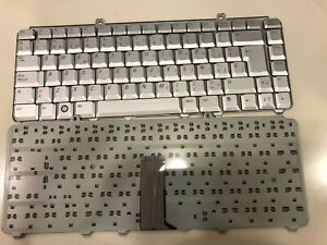 Qwerty Keyboard Dell Inspiron 1420 1520 1521 1525 1526 Silver