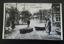 Mint Vintage 1913 Dayton OH Great Flood Main Street North From Bridge RPPC