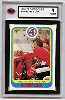 1978-79 OPC Hockey #300 Bobby Orr Graded 8.0 NMM (*G2020-037)