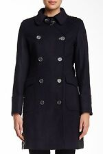 NEW Barbour Military Double Breasted 'Lieutenant' Wool Coat- Navy US 12 $699
