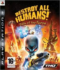 Destroy All Humans: Path of the Furon (PS3, No Manual) Rare Game PAL Region Free