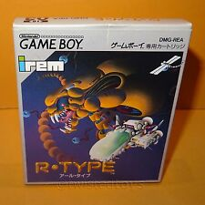 VINTAGE 1991 NINTENDO GAME BOY COMPACT VIDEO GAME SYSTEM R-TYPE CART JAPAN BOXED