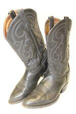 Tony Lama CZ820 Mens 9.5 D Tall Black Cowboy Western Hand Made Boots