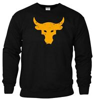 Brahma Bull Sweatshirt The Rock Project Gym Bodybuilding MMA Workout Gift Top